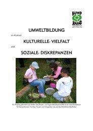 Dokumentation - Umweltbildung in der Offenen Ganztagsschule