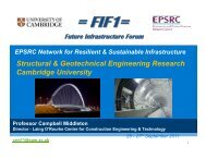 Presentation 04 - University of Cambridge - Future Infrastructure ...