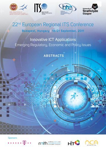 22nd European Regional ITS Conference - HTE