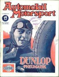Automobil motorsport 1926 1. évfolyam 19. szám - EPA