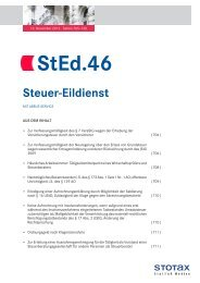 StEd.46 - Stotax Portal