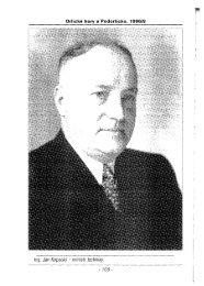 Ing. Jan Kopecký - ministr techniky.