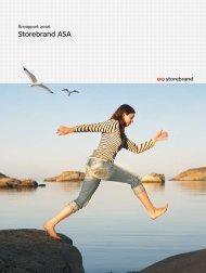Årsrapport 2006 Storebrand ASA