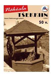 Näköala Tšekkiin 1/2011 - Suomi-Tšekki-seura
