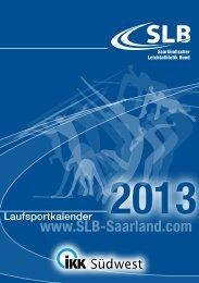 Saarl._Volkslaufkalender_SLB_2013 - Lauf und Freizeitshop