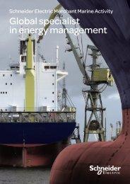 Merchant Marine brochure - Schneider Electric