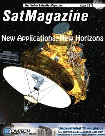 April 2010 - SatMagazine