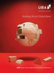 Building Africa's Global Bank - UBA Plc