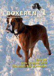 Boxeren 1-2011 - Boxerklubben