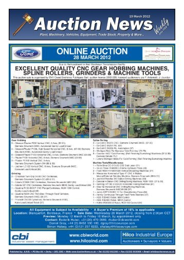 Online Auction - Auction News Services