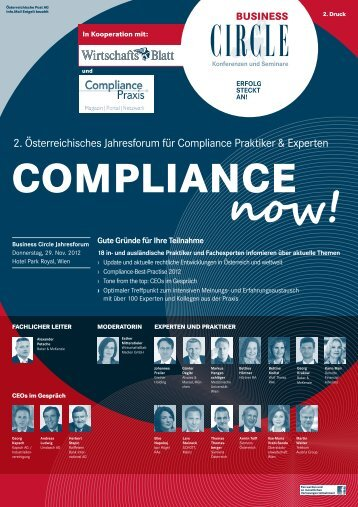 COMPLIANCE now! - Business Circle