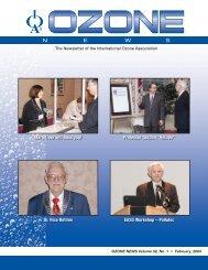 Vol 32 No 1 cover - International Ozone Association