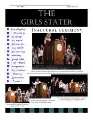 GIRLS STATER - Oklahoma Girls State