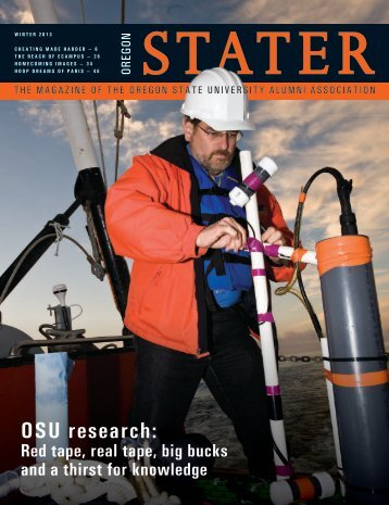 OSU research: - Oregon State University Alumni Association