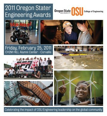 2011 Oregon Stater - College of Engineering - Oregon State University