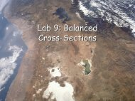 Lab 9: Balanced Cross-Sections - Geophysics at Georgia Tech