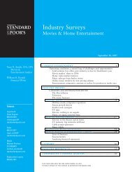Industry Surveys - Homepage Smc