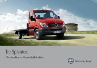 De Sprinter. - Mercedes-Benz