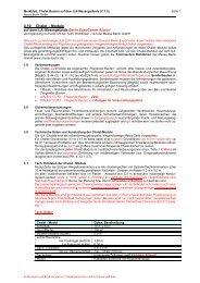 Technische Richtlinien Chalet-Bauten - ILA