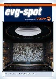 evg-spot 2/2008 - Osram