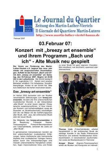 breezy art ensemble - Martin-Luther-Viertel