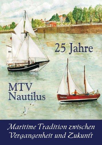 25 Jahre MTV Nautilus die Festbroschüre - Wolfgang Kiesel