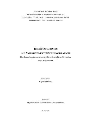 PDF 880kB - TOBIAS-lib - Universität Tübingen