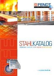 Stahlkatalog komplett - Eisen Fendt GmbH