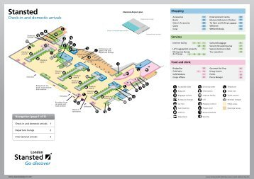 Stansted Airport Map Find terminal facilities on a Stansted Airport map (PDF format) Stansted Airport Map