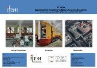 Experimentelle Tragsicherheitsbewertung von Bauwerken - ifem