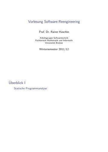 B - Informatik - Universität Bremen