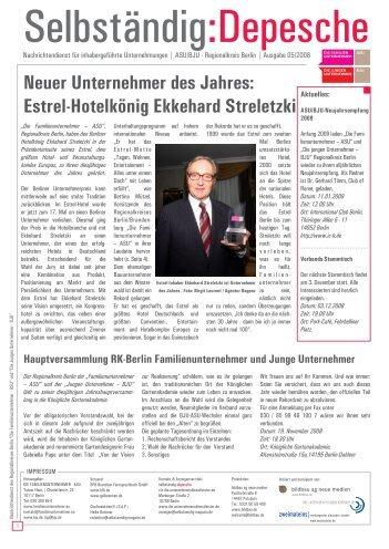 Estrel-Hotelkönig Ekkehard Streletzki - BJU/ASU