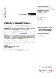 ArchInfo 11/2012 - Kammer der Architekten und Ingenieurkonsulenten