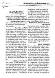 Geistliches Wort- - Evang.-Luth. Dekanat Bamberg