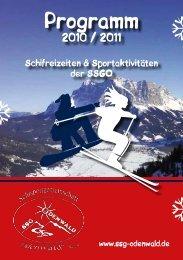 programm 2010-2011.pdf - SSG Odenwald