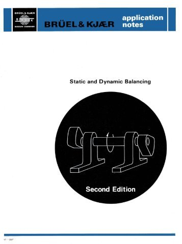Static and Dynamic Balancing Second Edition