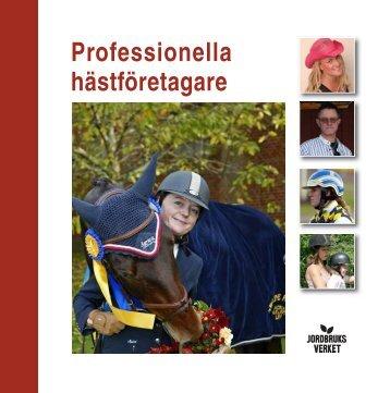 Professionella hästföretagare - LRF