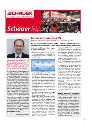 Schauer Report 2012 - Schauer Agrotronic GmbH