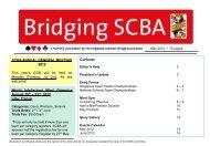 幻灯片 1 - Singapore National Bridge League 2012