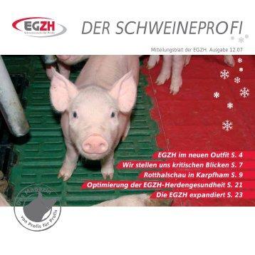 EGZH Magazin - Erzeugergemeinschaft und Züchtervereinigung für ...