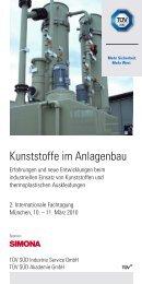 Kunststoffe im Anlagenbau - HESSEL Ingenieurtechnik GmbH ...