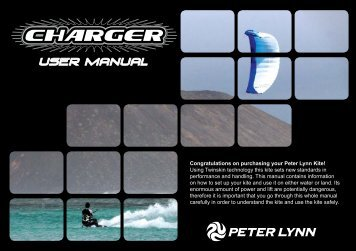 Charger manual - Peter Lynn