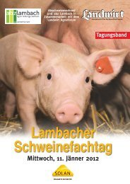 Download Tagungsband - Landwirt.com