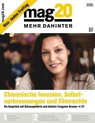 Chinesische Invasion, Selbst verbrennungen und Filmrechte - Mag20