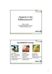 Hygiene Kälberstall-RKW Kehl