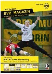 MTV 1860 Altlandsberg - Borussia Dortmund Handball