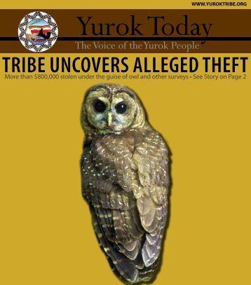 2012 March Yurok Today Newsletter - Yurok Tribe