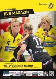 SV Union Halle-Neustadt - Borussia Dortmund Handball