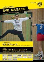 SC Greven 09 - Borussia Dortmund Handball