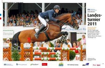 Landes- turnier 2011 - Pferd+Sport